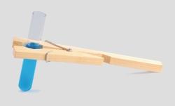 Pinza in legno portaprovette www interface for Provette e portaprovette